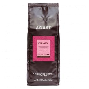 Italian Coffee Beans Agust Cremoso 1KG