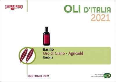 Basilio Italian Olive Oil awards